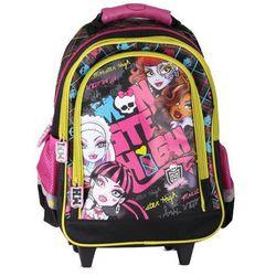 Plecak na kółkach Monster High