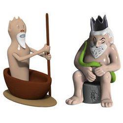 Porcelanowe figurki Caronte & Minosse
