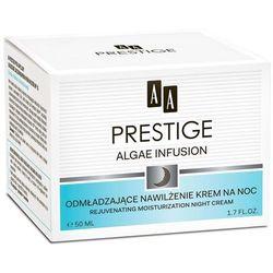AA Prestige Algae Infusion Odmładzający krem nawilżający na noc 50 ml