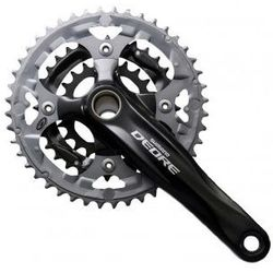 Mechanizm korbowy Shimano Deore 175mm FC-M590 48/36/26T