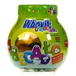 Vibovit Literki Żelki smak owocowy z witaminami żelki - 50 szt.