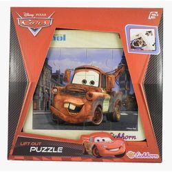 Auta 2 Puzzle drewniane Złomek
