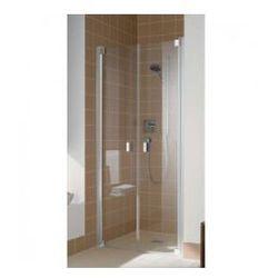 Drzwi prysznicowe Kermi Raya 80 cm, wahadłowe dwuskrzydłowe RAPTD08020VAK