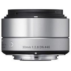 Obiektyw SIGMA Digital A 19/2.8 DN micro 4/3 (MFT) Srebrny