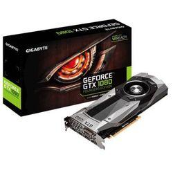 Karta graficzna Gigabyte GeForce GTX 1080 Founders Edition 8GB GDDR5X (256Bit) DVI-D/HDMI/3xDP BOX (GV-N1080D5X-8GD-B) Darmowy odbiór w 19 miastach!