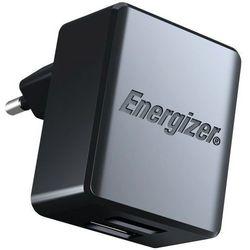 Ładowarka sieciowa ENERGIZER Hightech micro-USB 2.4A 2USB Czarny