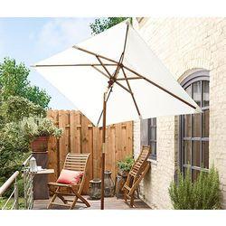 Mały parasol ogrodowy, kremowy