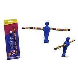 FC Barcelona, ołówek i gumka Piłkarz, zestaw Darmowa dostawa do sklepów SMYK