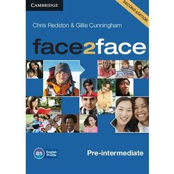 Face2Face pre-intermediate Audio Cds (opr. kartonowa)
