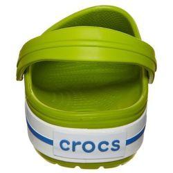 Crocs CROCBAND Klapki volt green/vasity blue