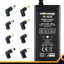 Whitenergy uniwerslany zasilacz sieciowy Super Slim do netbooka 65W, USB