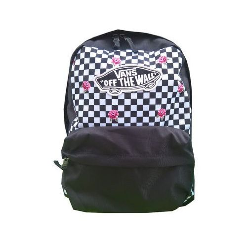 008036fb42f4c NOWY DAMSKI PLECAK VANS WM REALM BACKPACK ROSE CHECKERBOARD ...