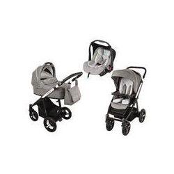 Wózek wielofunkcyjny 3w1 Lupo Husky + Leo Baby Design (szary 2016)