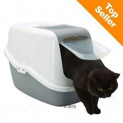 Savic Nestor kuweta dla kota - Jasnozielono-biała