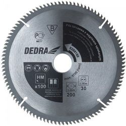 Tarcza do cięcia DEDRA H200100 200 x 30 mm do metalu HM