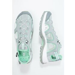 Salomon TECHAMPHIBIAN Sandały trekkingowe light onix/white/lucite green