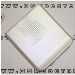 Obudowa Sony Ericsson S500i tylna / pokrywa baterii srebrna