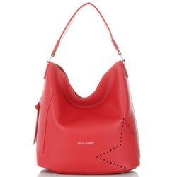 25b036ed David Jones Modne i Firmowe Torebki Damskie w rozmiarze XL z Kosmetyczką  Czerwona (kolory)