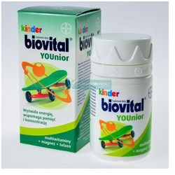 Kinder Biovital YOUnior, tabletki do ssania, 30 szt