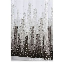 SKYLINE poliestrowa zasłona prysznicowa 180x200 cm 47367