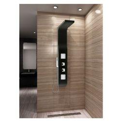 9502 Panel prysznicowy, czarny