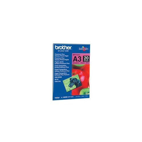 Brother BP71GA3 Premium Plus Glossy A3 Photo Paper