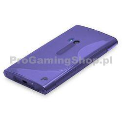 Etui silikonowe S-TYPE na Nokia Lumia 920, Violet