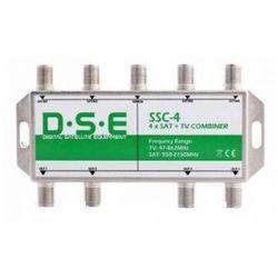 Sumator RTV/SAT x4 DSE SSC4, do quada Oferta