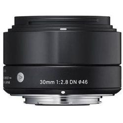 Obiektyw SIGMA Digital A 30/2.8 DN Micro 4/3 (MFT) Czarny + DARMOWY TRANSPORT! + Zamów z DOSTAWĄ JUTRO!