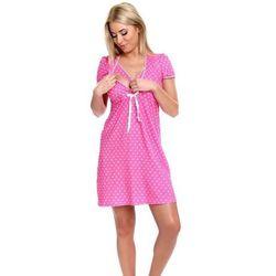 Koszula dla kobiet w ciąży i karmiących ITALIAN FASHION Olimpia różowa