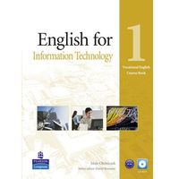 Vocational English: English for IT, Level 1, Coursebook (podręcznik) plus CD-ROM (opr. miękka)