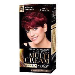 Farba do włosów Joanna Multi Cream Color wiśniowa czerwień 35