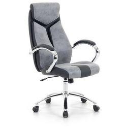Krzeslo biurowe szare - fotel biurowy obrotowy - meble biurowe - FORMULA 1