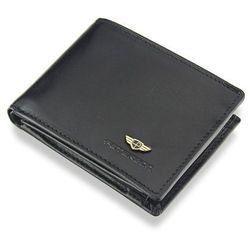 049aae03ab75f Kompaktowy Portfel Męski Peterson Skórzany Mały Zgrabny Poziomy Czarny  SYSTEM RFID 367
