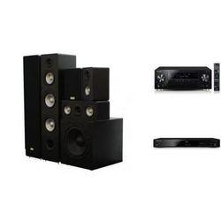 PIONEER VSX-930 + BDP-100 + TAGA TAV-406 + TSW-90 - Kino domowe - Autoryzowany sprzedawca