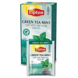 Zielona herbata Lipton Classic Green Tea Mint 25 kopert