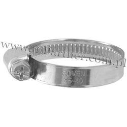 Obejma opaska zaciskowa ślimakowa skręcana 25-40mm 100szt