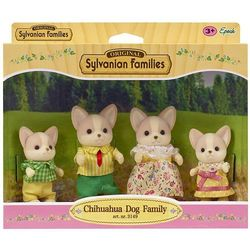 Sylvanian Families, rodzina piesków Chihuahua, zestaw figurek Darmowa dostawa do sklepów SMYK
