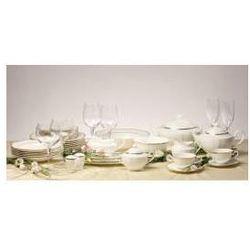 Zestaw obiadowy dla 12 osób porcelana Desire Gold, 24-karatowe złoto