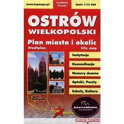OSTRÓW WIELKOPOLSKI. PLAN MIASTA I OKOLIC (opr. miękka)