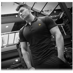Dedicated Dry-Fit Polo Black