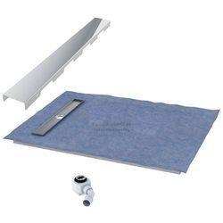 Schedpol podposadzkowa płyta prysznicowa 100x100 cm steel 10.003OLKBSL