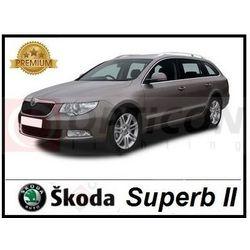 Skoda Superb II - Światła do jazdy dziennej LED DRL P21W Ba15s PLASMA COB Premium - Zestaw 2 żarówki