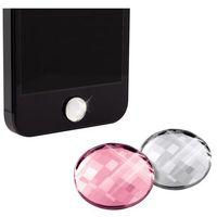 Akcesorium WHITE DIAMONDS iPhone5 Przycisk Home 2 in 1 Pink/Krystal