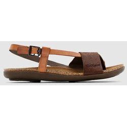 Skórzane płaskie sandały Alchimy