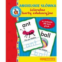 Angielskie słówka. Ścieralne karty edukacyjne (opr. miękka)