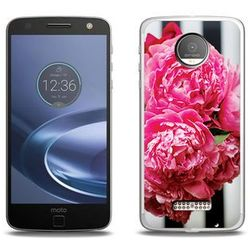 Foto Case - Lenovo Moto Z Force - etui na telefon Foto Case - różowe kwiaty