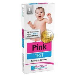 PINK test ciążowy płytkowy 1szt