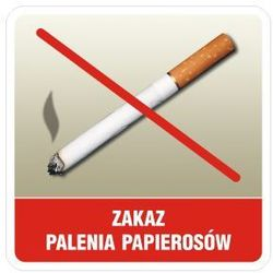 Zakaz palenia papierosów