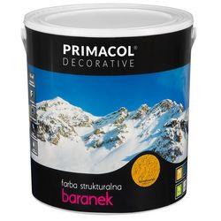 Farba strukturalna Baranek Bursztynowy 5 l Primacol Decorative